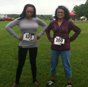 Before the 5K race