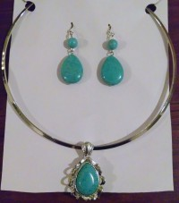 Turquoise jewelry from Oishi