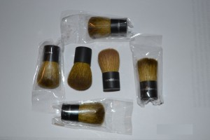Sample brushes - a memento from bareMinerals